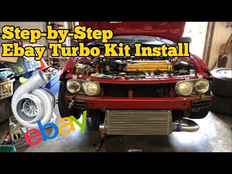 Turbo Install Guide    Honda Acura B18 B20 D16 D15 Etc