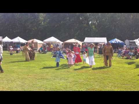 Dancing in the Pow-Wow in North Conway, NH