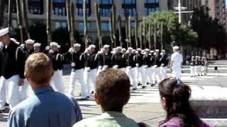 Navy Memorial Service - Washington D.C.