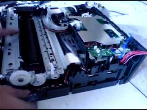 Brother Printer J 140 w Replace Power Suplay - YouTube