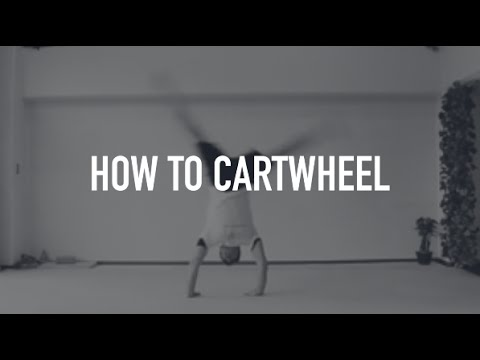 How To Do A Cartwheel - Basic Tutorial For Beginners