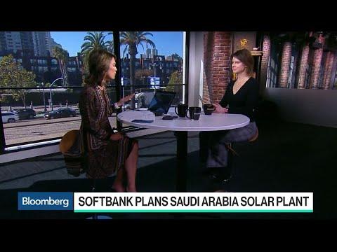 SoftBank Plans Saudi Arabia Plant