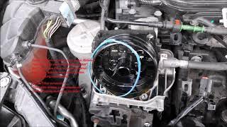 Ford Mondeo ba7 Dieselfilter-Kraftstofffilter wechsel