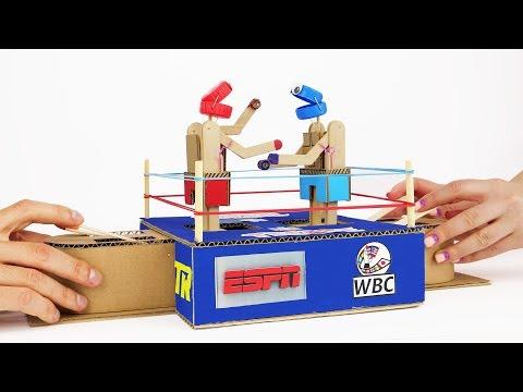 DIY Rock 'em Sock 'em Robots Family Fun Classic Game