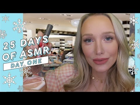 ASMR Doing Your Holiday Makeup (Warm & Friendly!) #25DaysOfASMR | GwenGwiz thumbnail