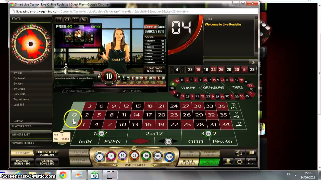 Roulette system red black