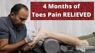 4 Months of Toe Pain Relieved Before Your Eyes (REAL TREATMENT!!!)