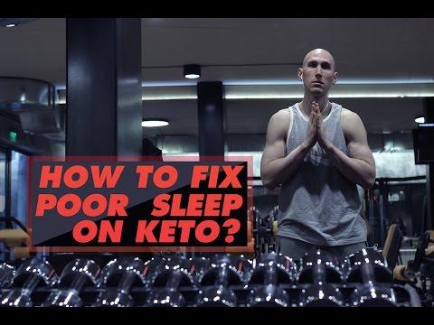 HOW TO FIX POOR SLEEP ON KETO?