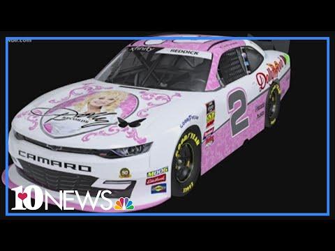 Sharon Green - See The Dolly Parton NASCAR Racing This Weekend At Bristol
