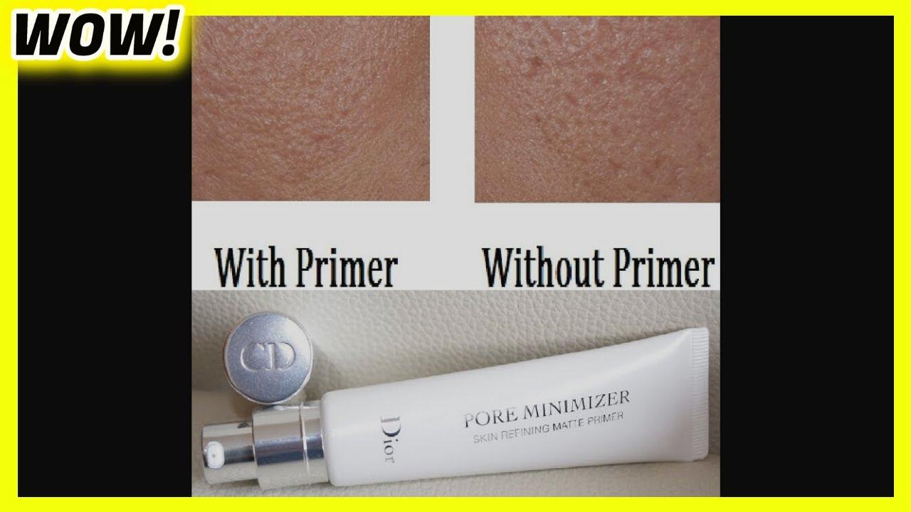 Dior Pore Minimizer Primer Review Youtube