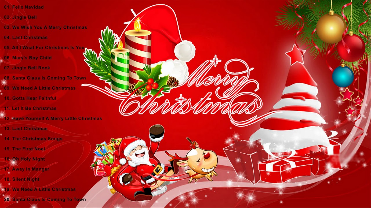 Merry Christmas 2019.Best Christmas Songs Of All Time Top 30 Greatest Christmas Songs Ever Merry Christmas 2019