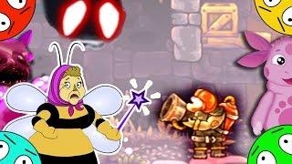 🐾 Финальная битва на планете зомби лунтиков. Пожарный vs демонов # 20. Мультик игра