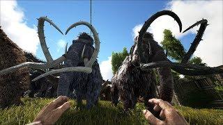 ARK: Survival Evolved - Уроки выживания. Урок 90. Суровые мамонты.