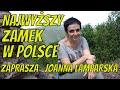 Najwyższy #zamek w Polsce  Do Rogowca zaprasza Joanna Lamparska #Rogowiec z drona