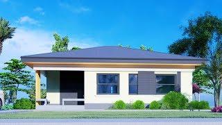 House Design Plan 11.5x10.5m 120sqm W/ 3 Bedroom Bungalow