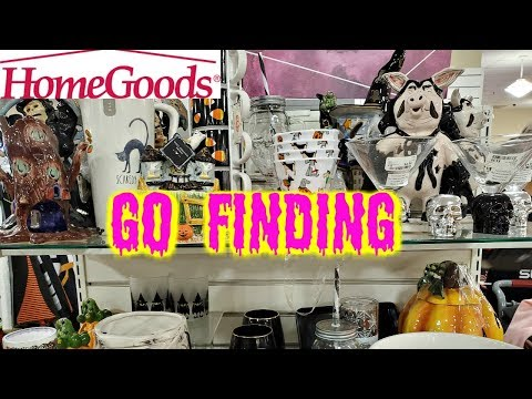 HOMEGOODS Halloween HUNTING - Store Walkthrough * SHOP WITH ME 2019