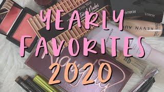 BEAUTY FAVORITES : BEST MAKEUP OF 2020 - #VLOGMAS day 31