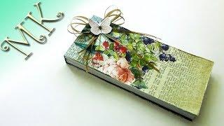 Блокнот с отрывными листами для заметок/Notebook with tear leaves/Anisa - Творческие МАСТЕР КЛАССЫ