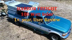 Will Harbor Freight solar panels last? 1+ Year users review