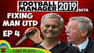 Football Manager 2019 - Manchester United EP4 - Bayern Munich - FM19 Beta Save
