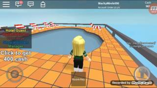 A day at the hotel roblox (hotel elephant) #videoextra