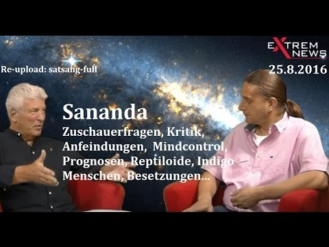 Geistheiler Sananda - Zuschauerfragen, Reptiloide