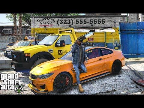 GTA 5 REAL LIFE CJ MOD #108 - LAMAR'S STEALING FROM ME!!!(GTA 5 REAL LIFE MODS/ THUG LIFE)M4