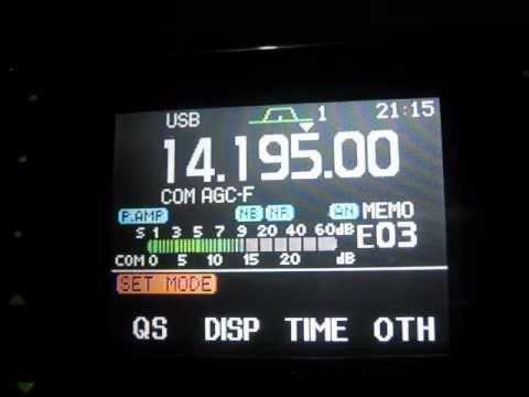 Extreme HF DX (HI3/N2YDD) Dominican Rep. to (VU2ELJ) India on 20 Meters SSB