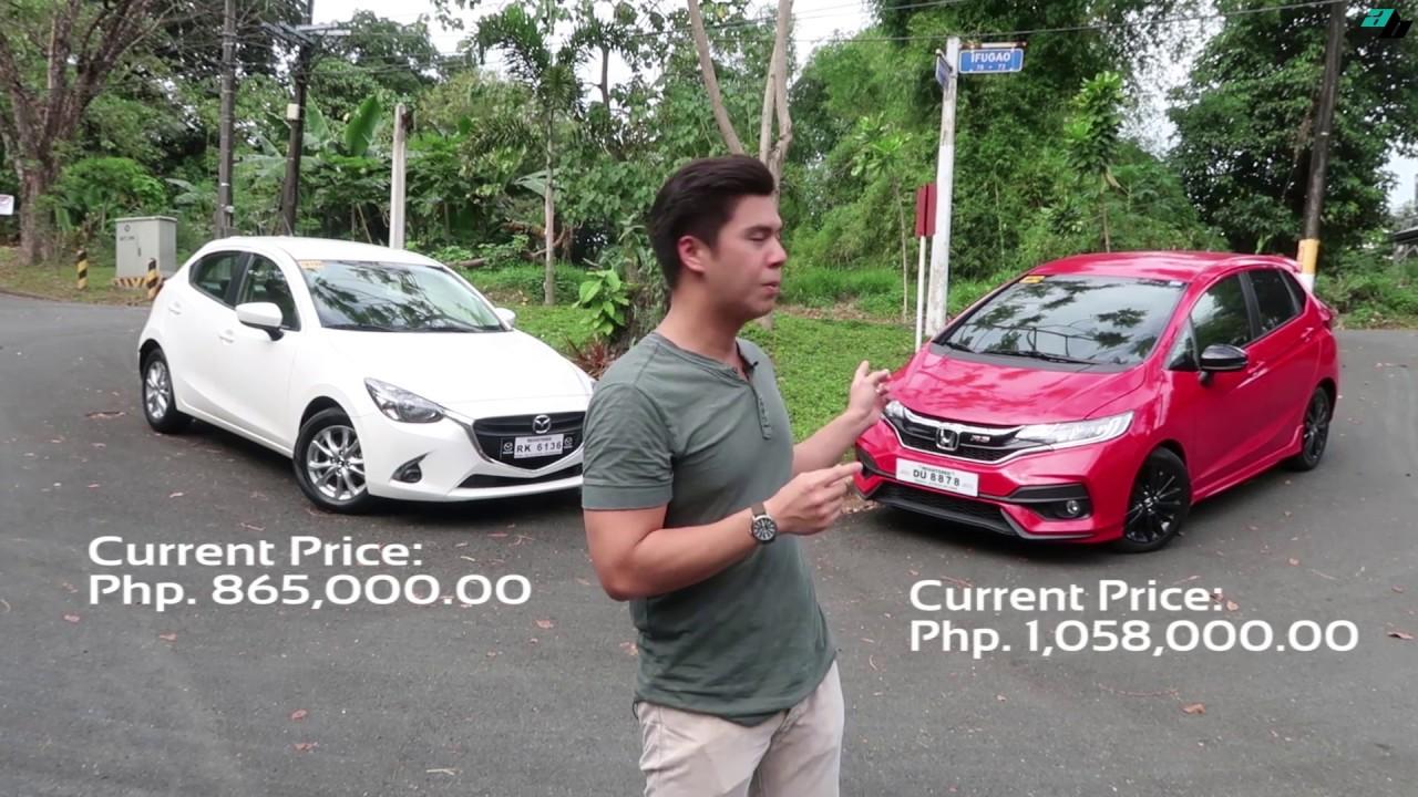 Autobuyers - AG Puyat - Honda Jazz RS and Mazda 2 - Comparo