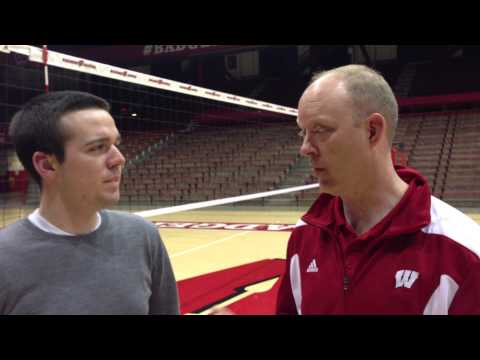 Volleyball post-match interview with head coach Kelly Sheffield