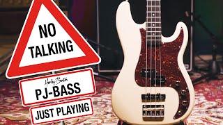 Harley Benton - No Talking - PJ-74 OW Vintage - Bass -