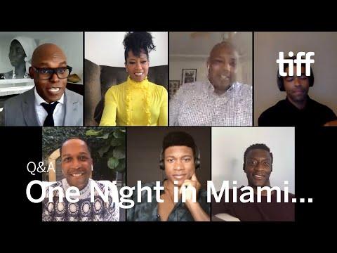 ONE NIGHT IN MIAMI... Q&A | TIFF 2020