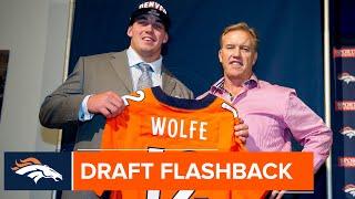 Derek Wolfe arrives in Denver after 2012 NFL Draft   Broncos Draft Flashback