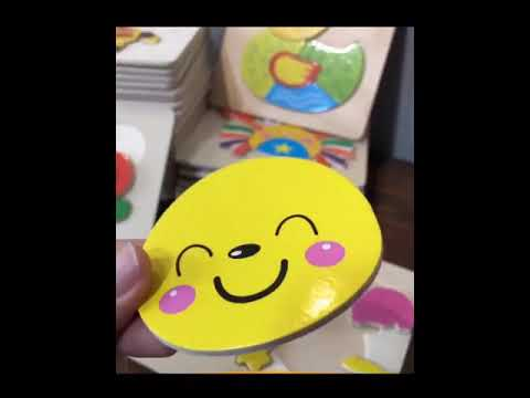Baby Wooden Puzzle Toys Developing Educational Puzzle Kids Toys Game Animal Cartoon Gift