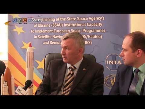 Ukraine - GMCstreamTV Exclusive Interview of State Space Agency of Ukraine (SSAU)
