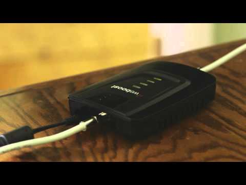 WeBoost Home Installation Of Cell Phone Signal Booster