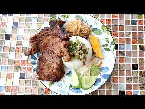 Com Tam Vietnamese Broken Rice - Food Paw Adventure Ep 02