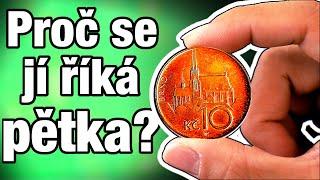 Proč se Desetikoruně říká PĚTKA? (A jak jsme místo Korun českých měli málem Drápky a Brka!)