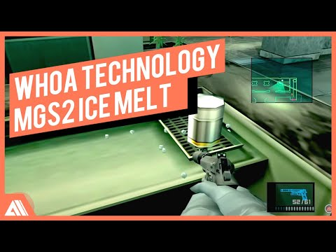 Metal Gear Solid 2 HD - MELTING ICE