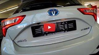 New Toyota Yaris Hybrid Review 2018