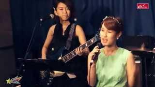 昭和アイドル歌謡バンド「藤本☆小夏とファンタジー」のライブにて 桜田...