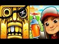 Temple Run 2 Sky Summit VS Subway Surfers Monaco Android iPad iOS Gameplay
