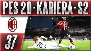 PES 20 Kariéra - AC Milan | #37 | Překvapí Utrecht v EL? | CZ Let's Play (S2)