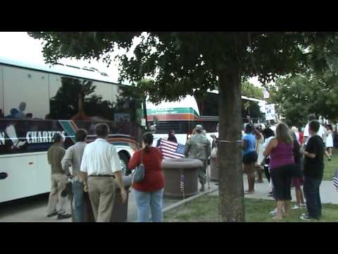 Texas National Guard Armory, Returns Home Aug. 25, 2009