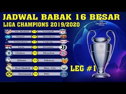 Babak 16 Besar Liga Champion 2020 : JADWAL BABAK 16 BESAR ...