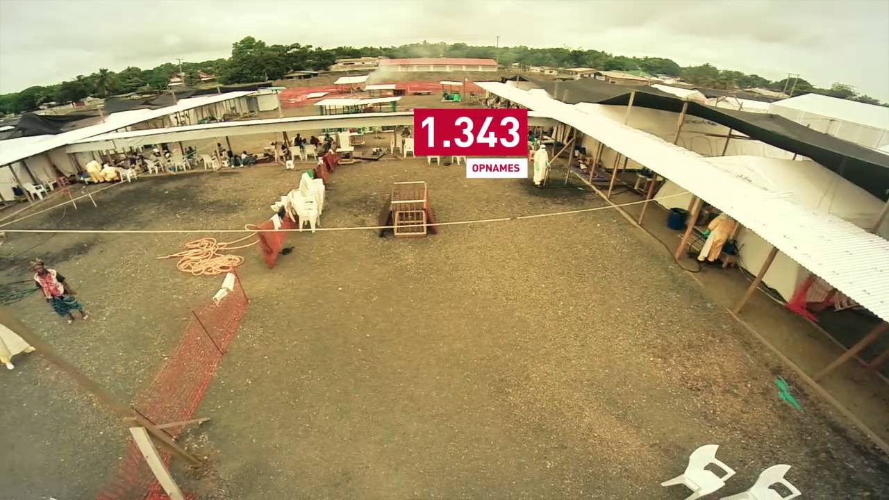 Ebola centrum artsen zonder grenzen vanuit de lucht youtube - Strand zwembad zonder grenzen ...