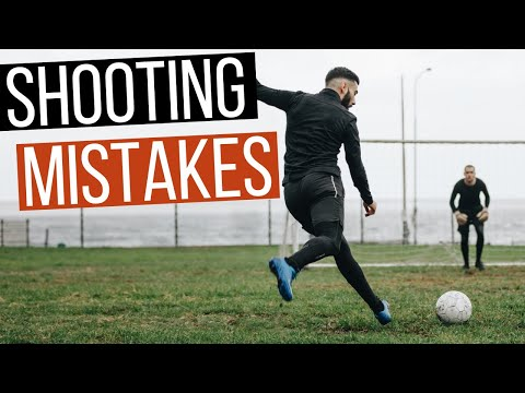 5 Mistakes Soccer Players Make While Shooting