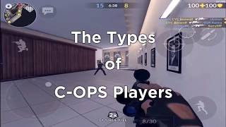The Types Of Critical Ops Players