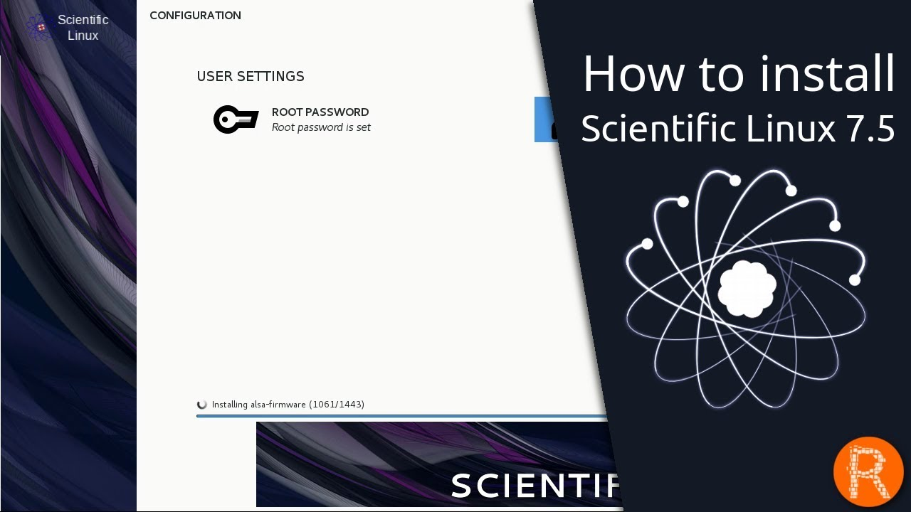 How to install Scientific Linux 7 5