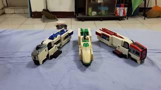 199%年勇者特急系列的玩具,機器人型態造型很醜不忍直視,不過看在1993...